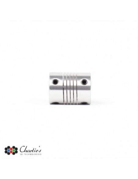 Flexibele Askoppeling - 4x5mm / 5x5mm / 5x6mm / 5x6,35mm / 5x8mm