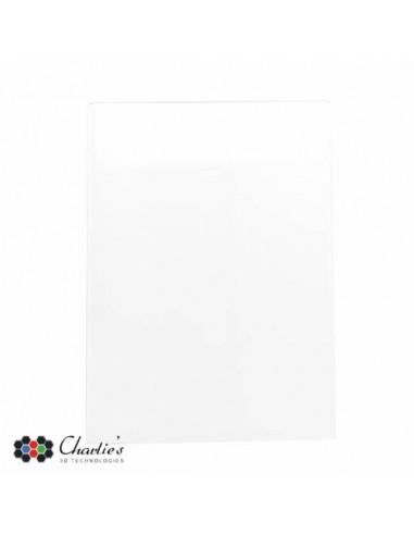Carbon plate - 200 x 200 x 3 mm