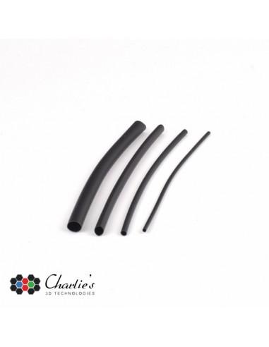 HEAT-SHRINKABLE TUBE KIT - 40 pcs- BLACK